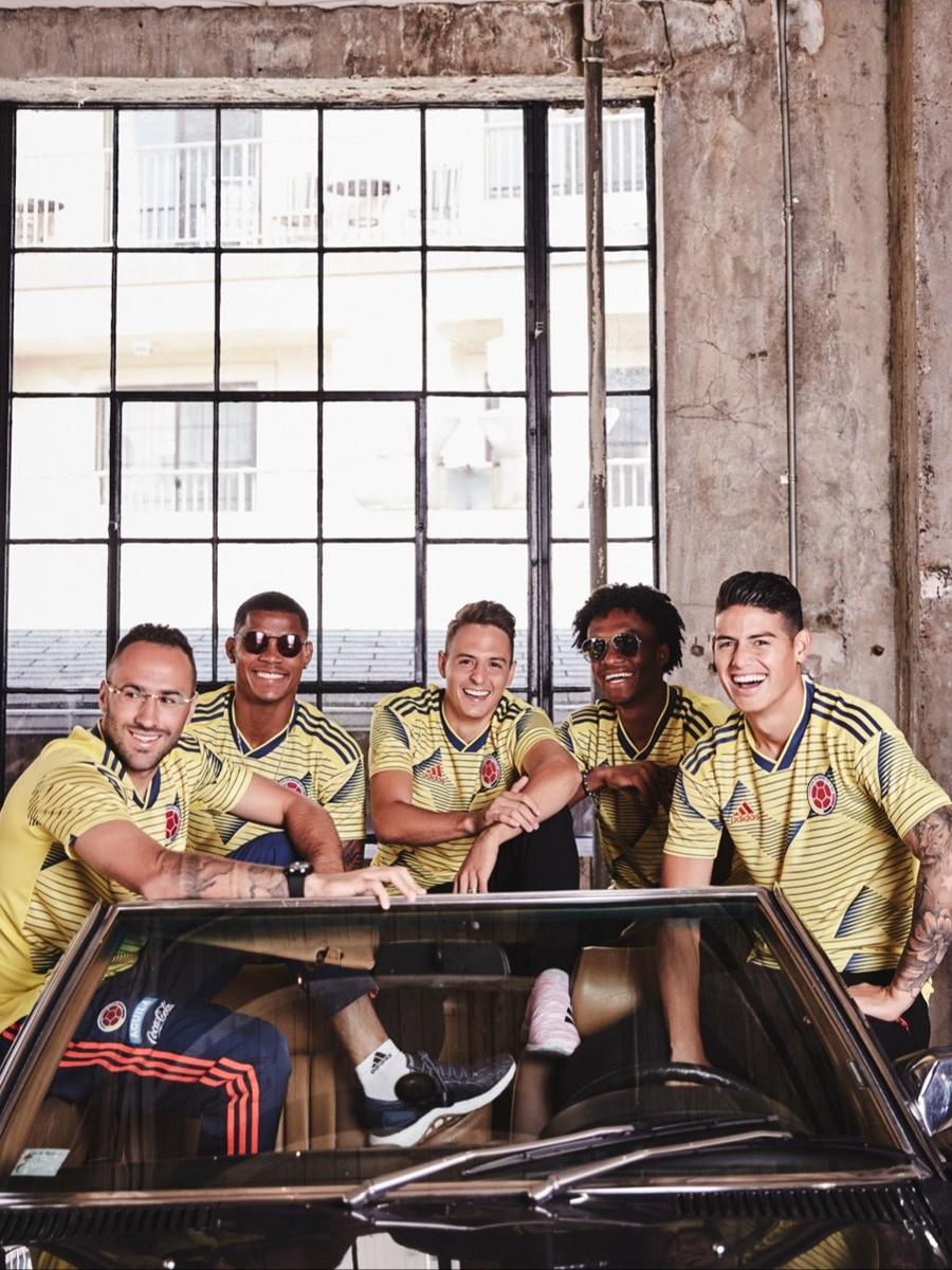 哥伦比亚国家队2019赛季主场球衣 © 球衫堂 kitstown