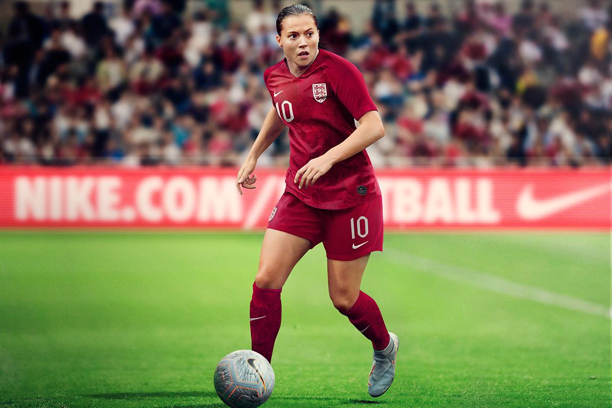 英格兰女足国家队2019世界杯主客场球衣 © 球衫堂 kitstown