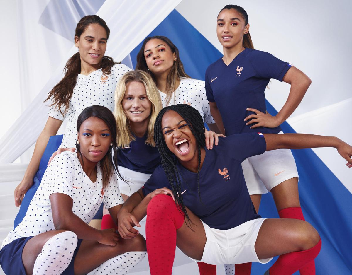 法国女足国家队2019世界杯主客场球衣 © 球衫堂 kitstown