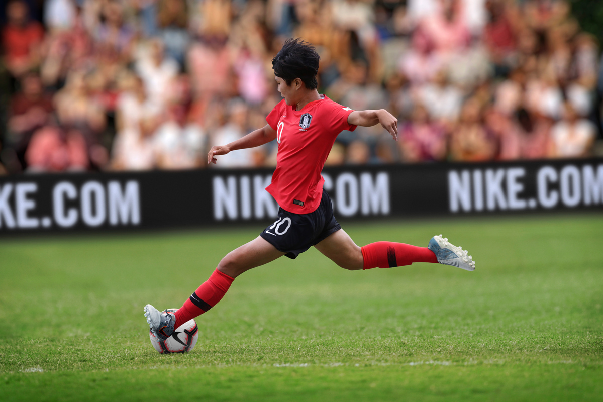 韩国女足国家队2019世界杯主客场球衣 © 球衫堂 kitstown