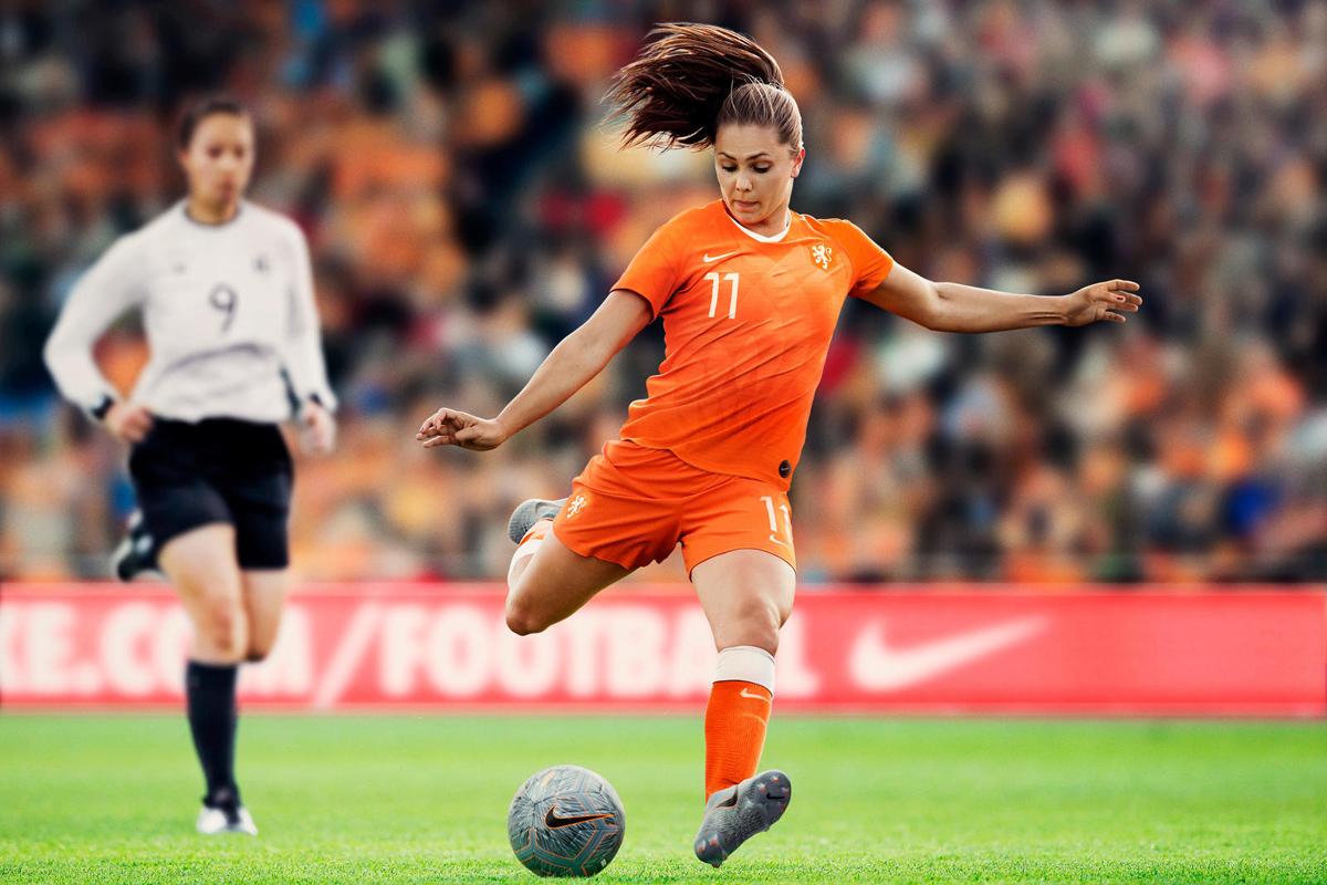 荷兰女足国家队2019世界杯主客场球衣 © 球衫堂 kitstown