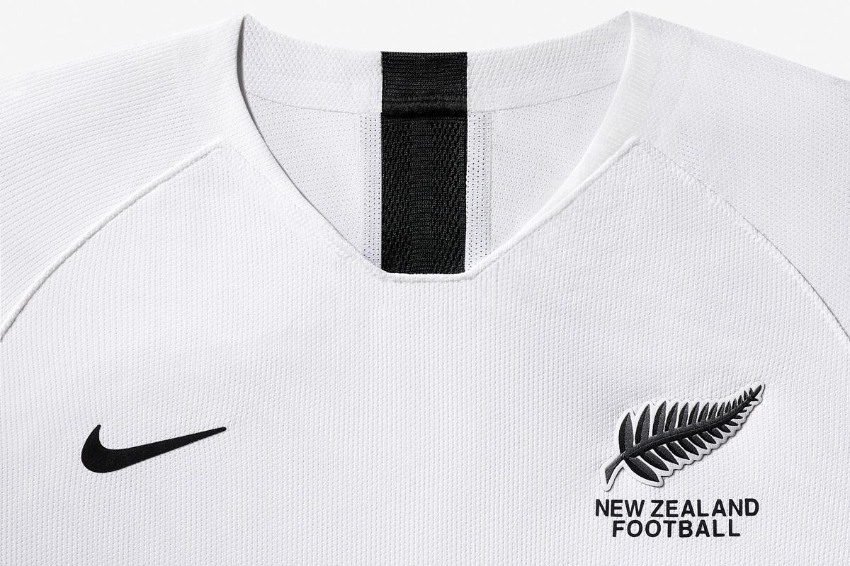 新西兰女足国家队2019世界杯主客场球衣 © 球衫堂 kitstown