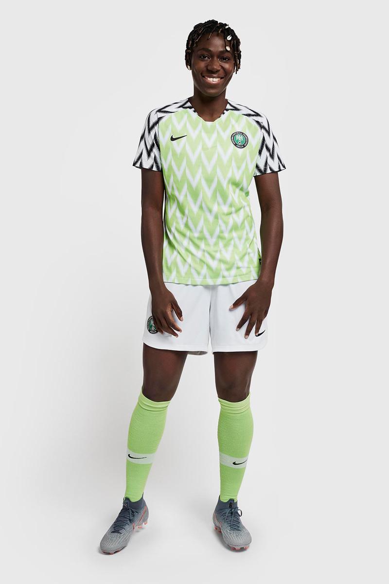 尼日利亚女足国家队2019世界杯主客场球衣 © 球衫堂 kitstown