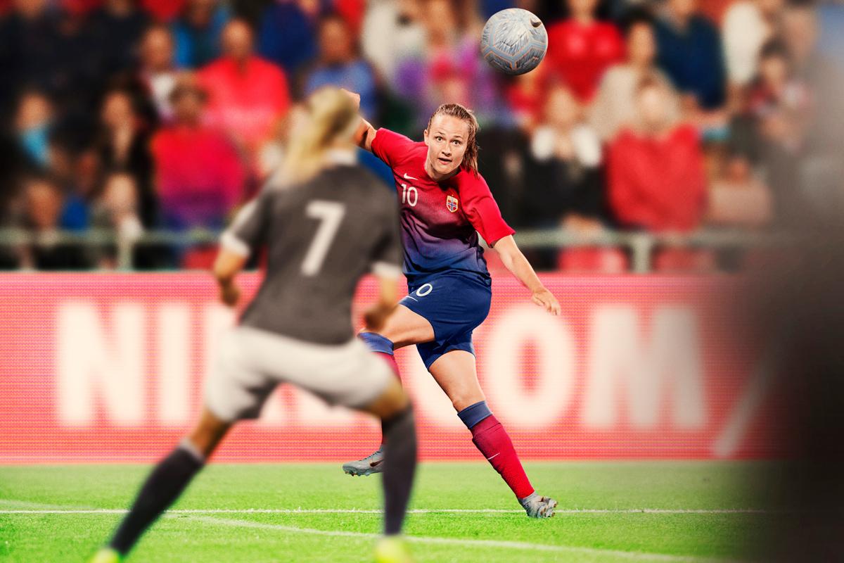 挪威女足国家队2019世界杯主客场球衣 © 球衫堂 kitstown