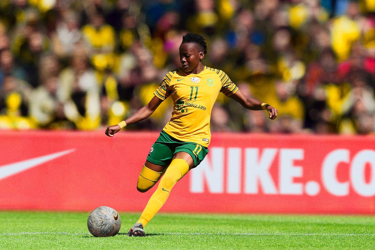 南非女足国家队2019世界杯主客场球衣 © 球衫堂 kitstown