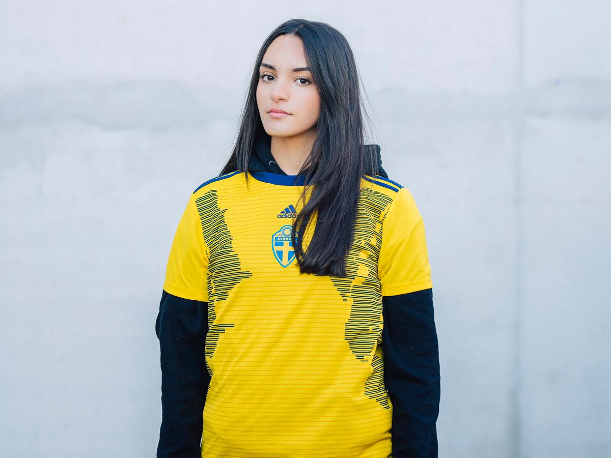 瑞典女足国家队2019世界杯主场球衣 © 球衫堂 kitstown