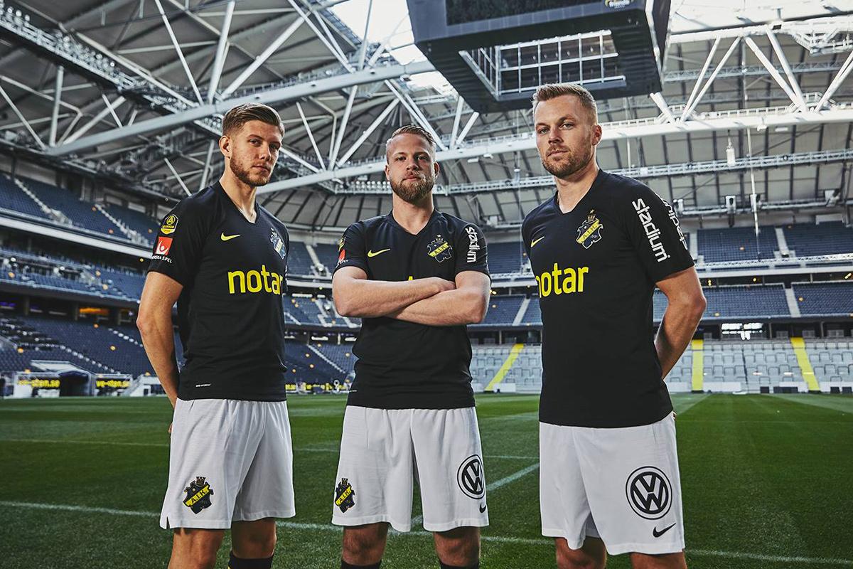 AIK俱乐部2019赛季主场球衣 © 球衫堂 kitstown