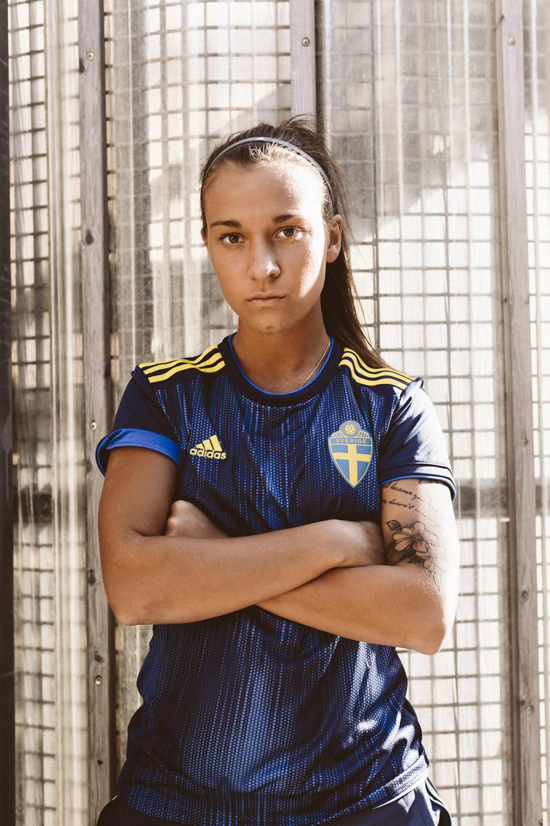 瑞典女足国家队2019世界杯客场球衣 © 球衫堂 kitstown