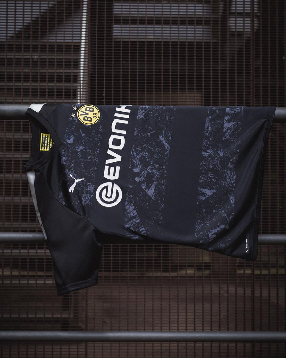 多特蒙德2019-20赛季客场球衣 © 球衫堂 kitstown