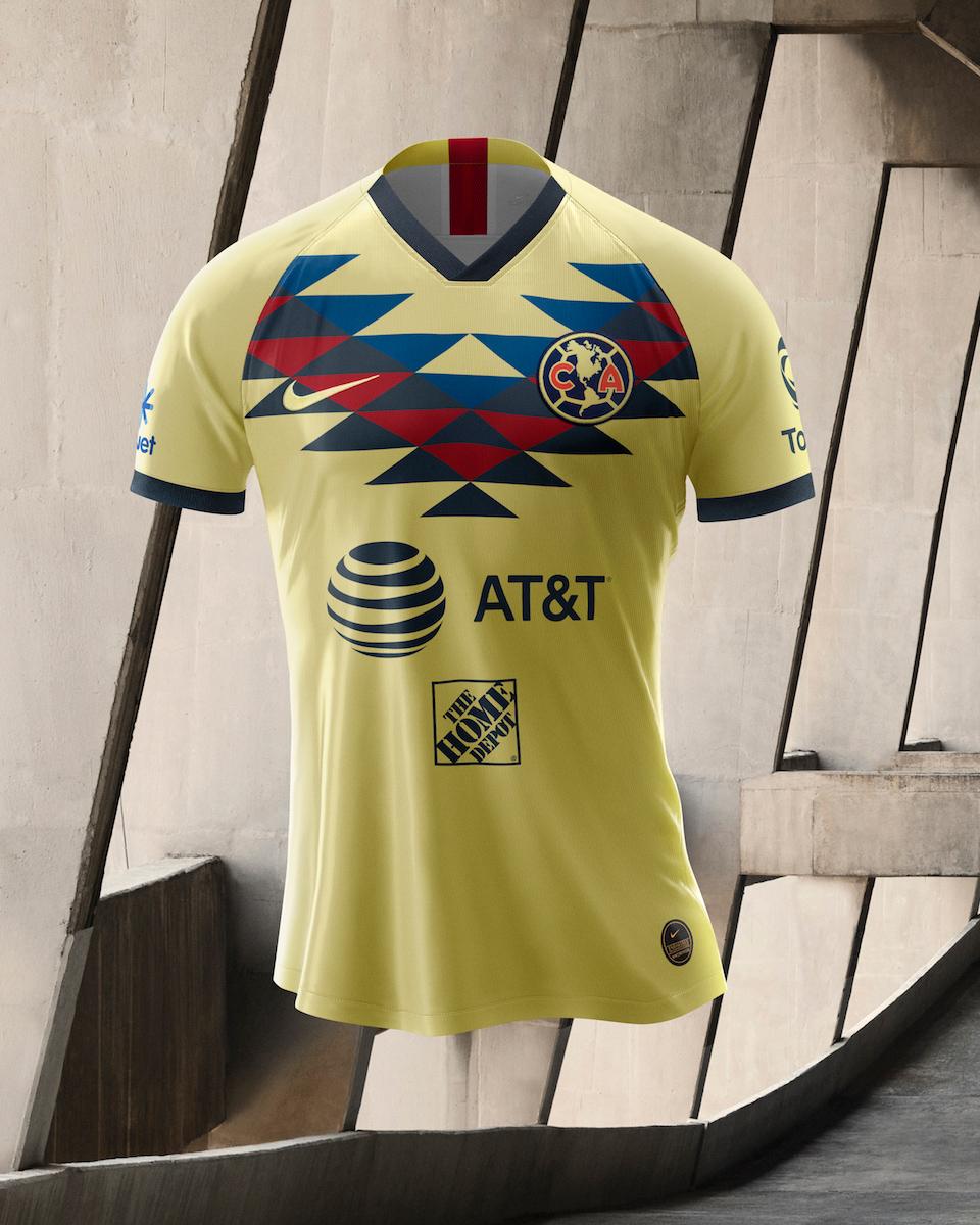 墨西哥美洲2019-20赛季主客场球衣 © 球衫堂 kitstown