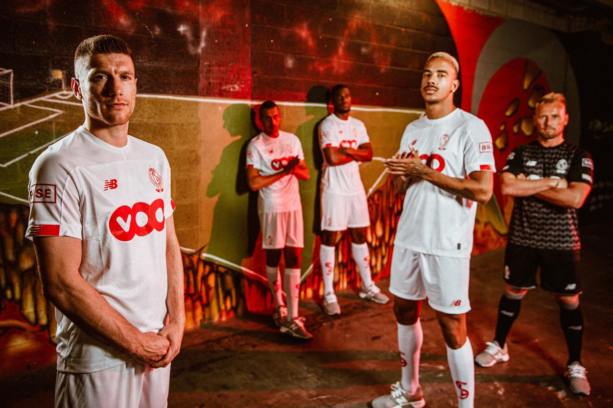 标准列日2019-20赛季主客场球衣 © 球衫堂 kitstown