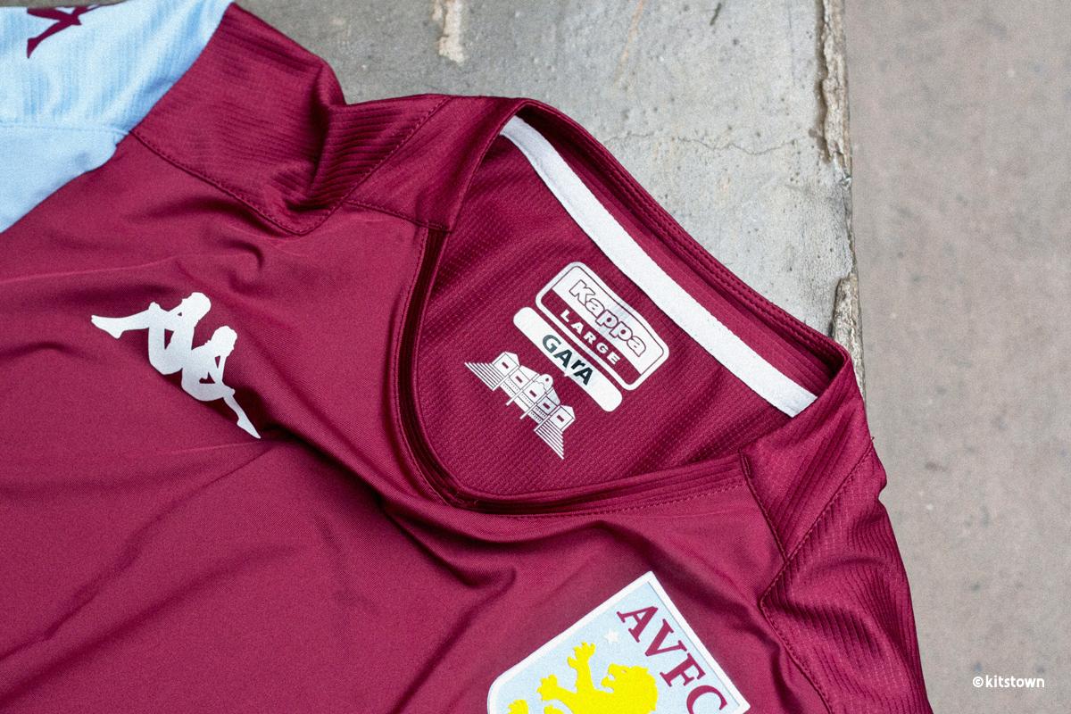 阿斯顿维拉2019-20赛季主客场球衣 © 球衫堂 kitstown