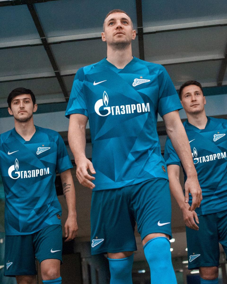 圣彼得堡泽尼特2019-20赛季主客场球衣 © 球衫堂 kitstown
