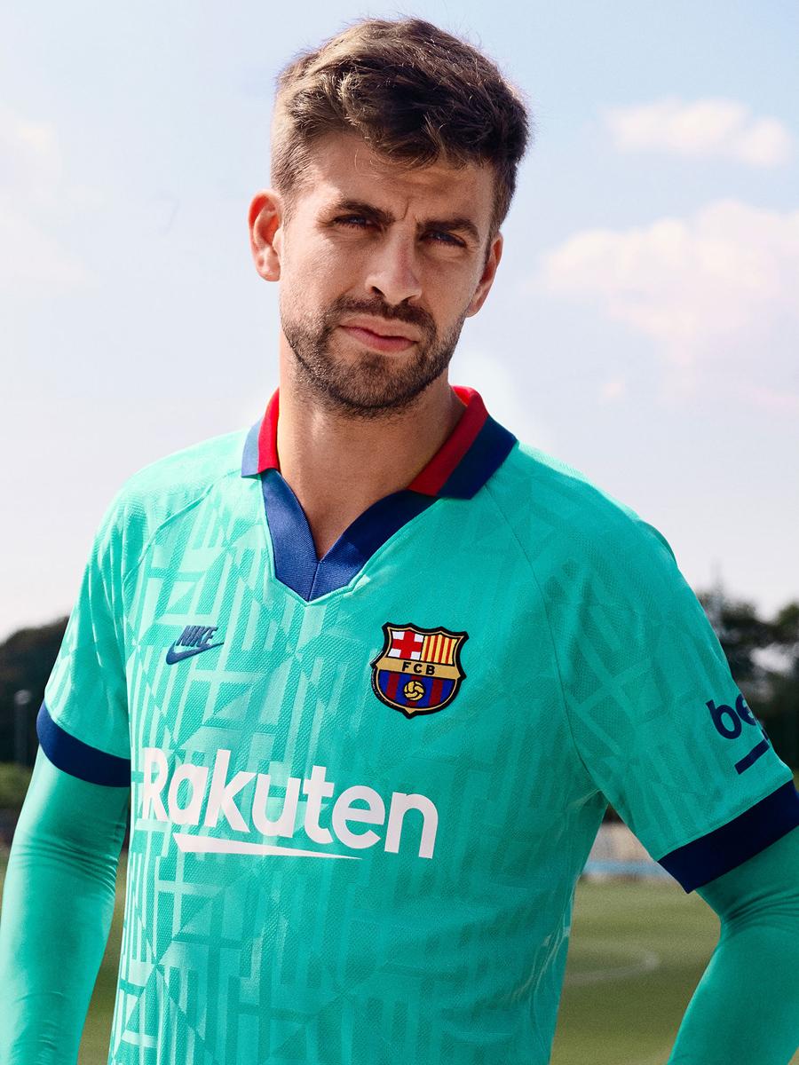 巴塞罗那2019-20赛季第二客场球衣 © 球衫堂 kitstown