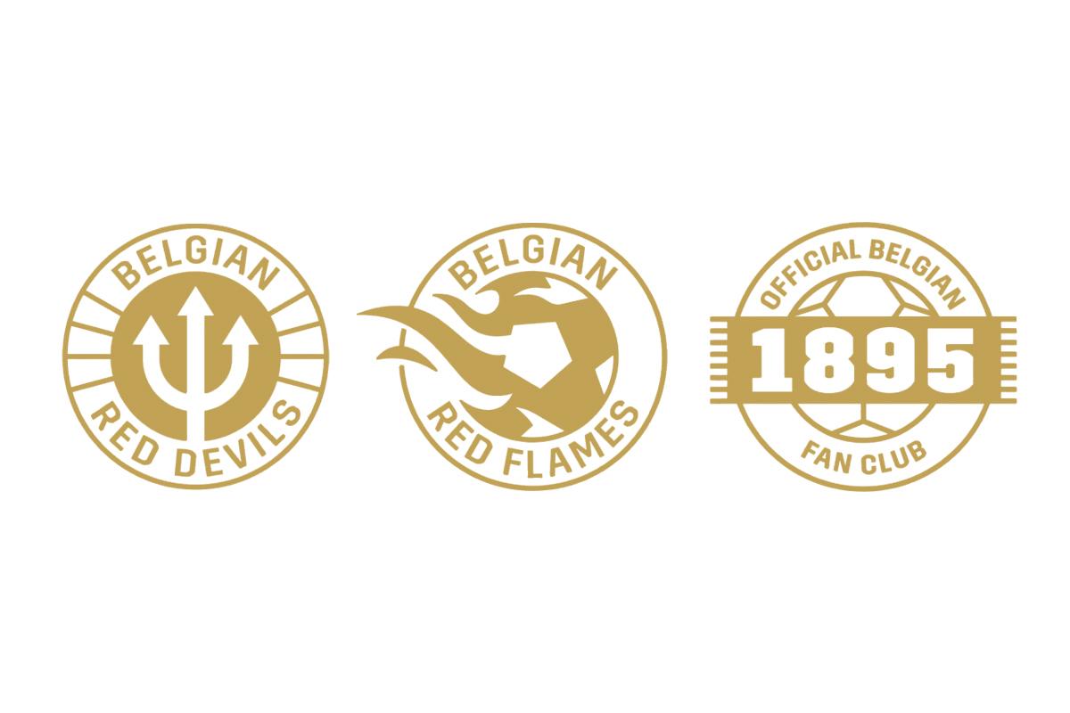 比利时足协推出全新品牌标识 © 球衫堂 kitstown