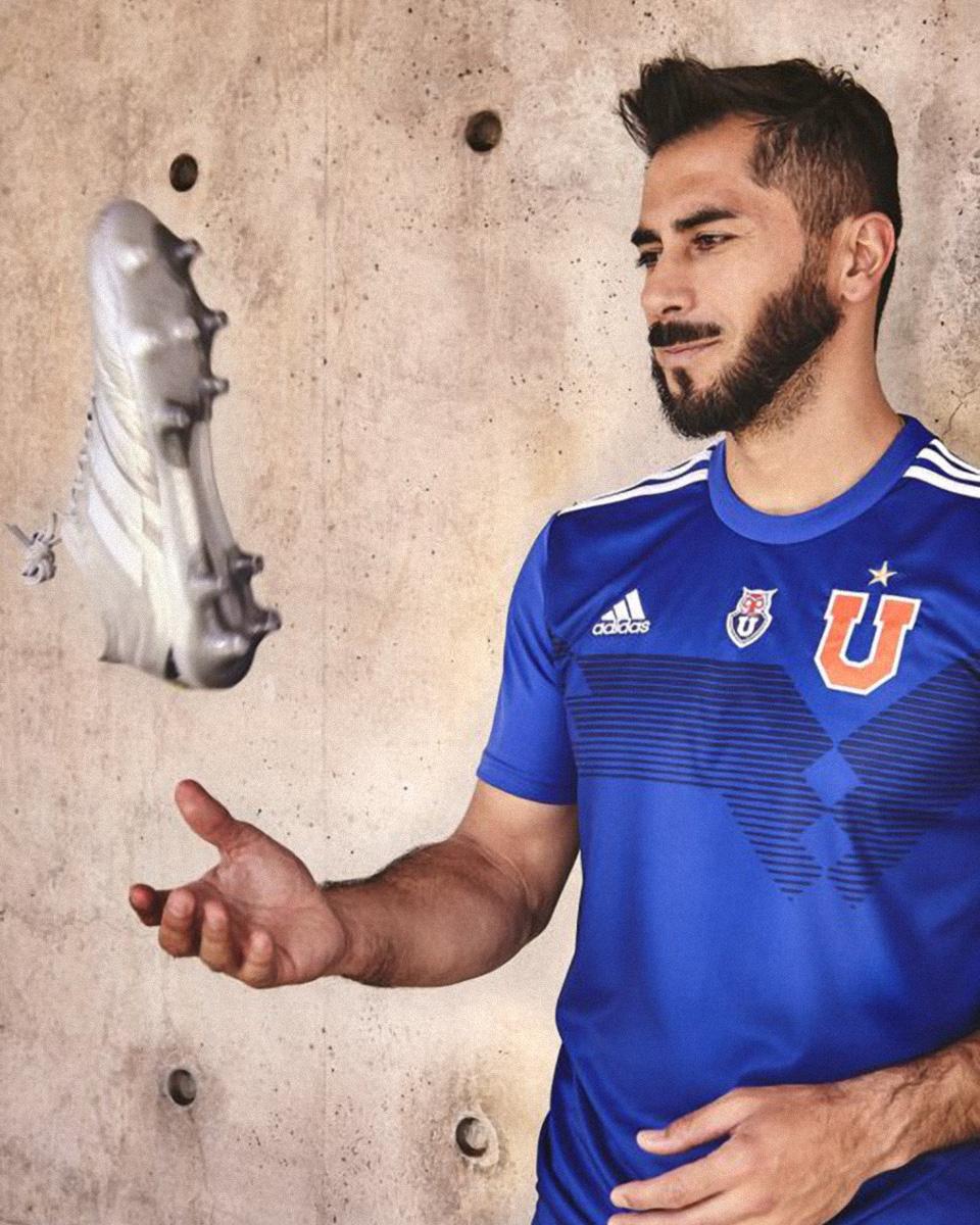 "adidas × 智利大学""三条纹七十年""特别球衣 © 球衫堂 kitstown"