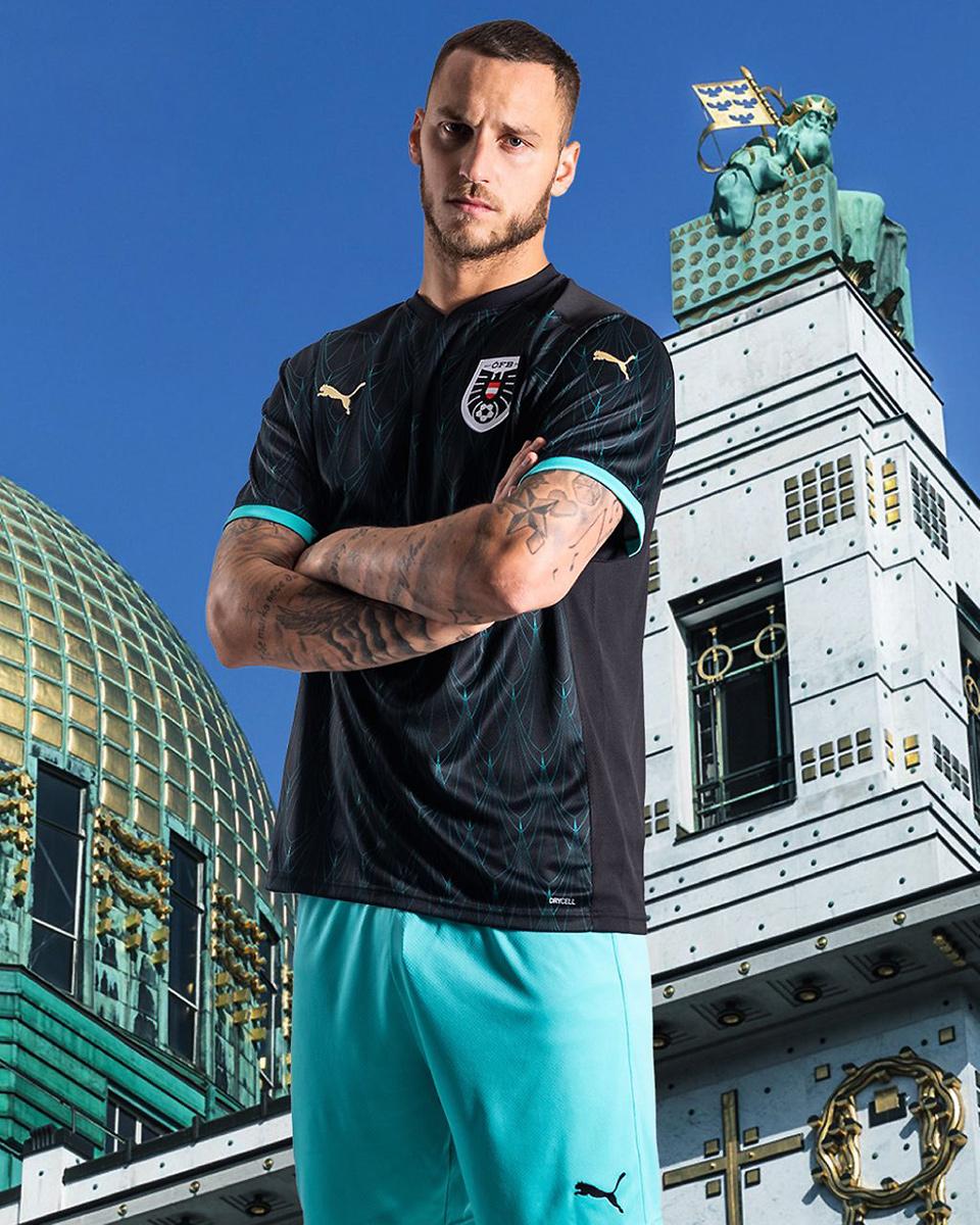 奥地利国家队2020年欧洲杯客场球衣 © 球衫堂 kitstown