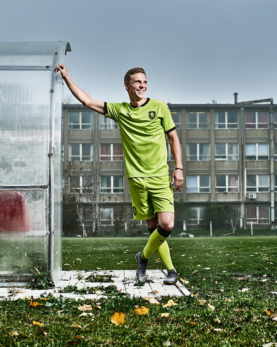 捷克国家队2020年欧洲杯客场球衣 © 球衫堂 kitstown