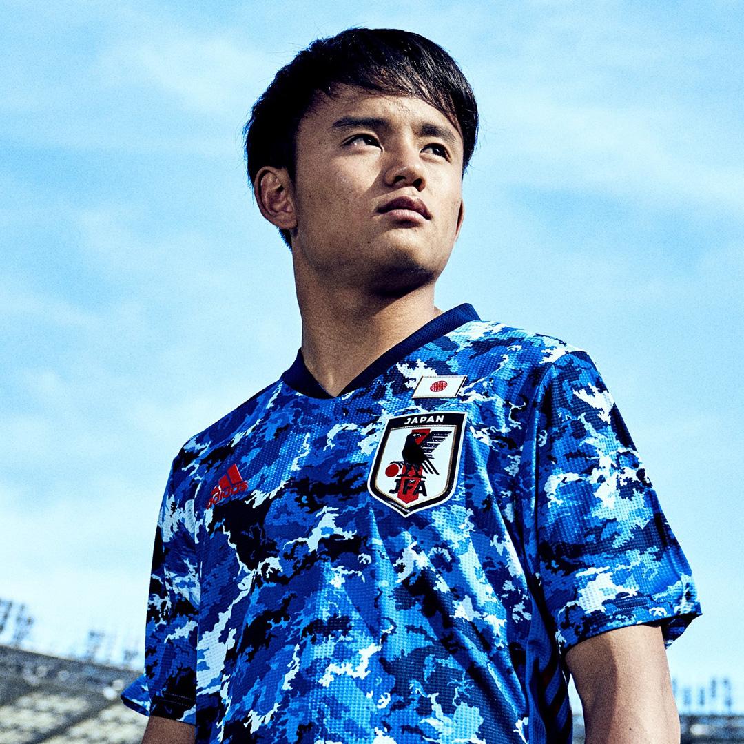 日本国家队2020赛季主场球衣 © 球衫堂 kitstown