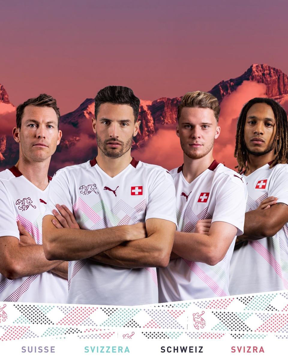 瑞士国家队2020年欧洲杯客场球衣 © 球衫堂 kitstown