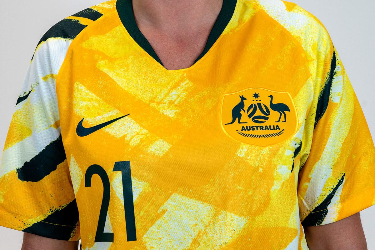 澳大利亚足协揭晓全新国家队队徽 © 球衫堂 kitstown