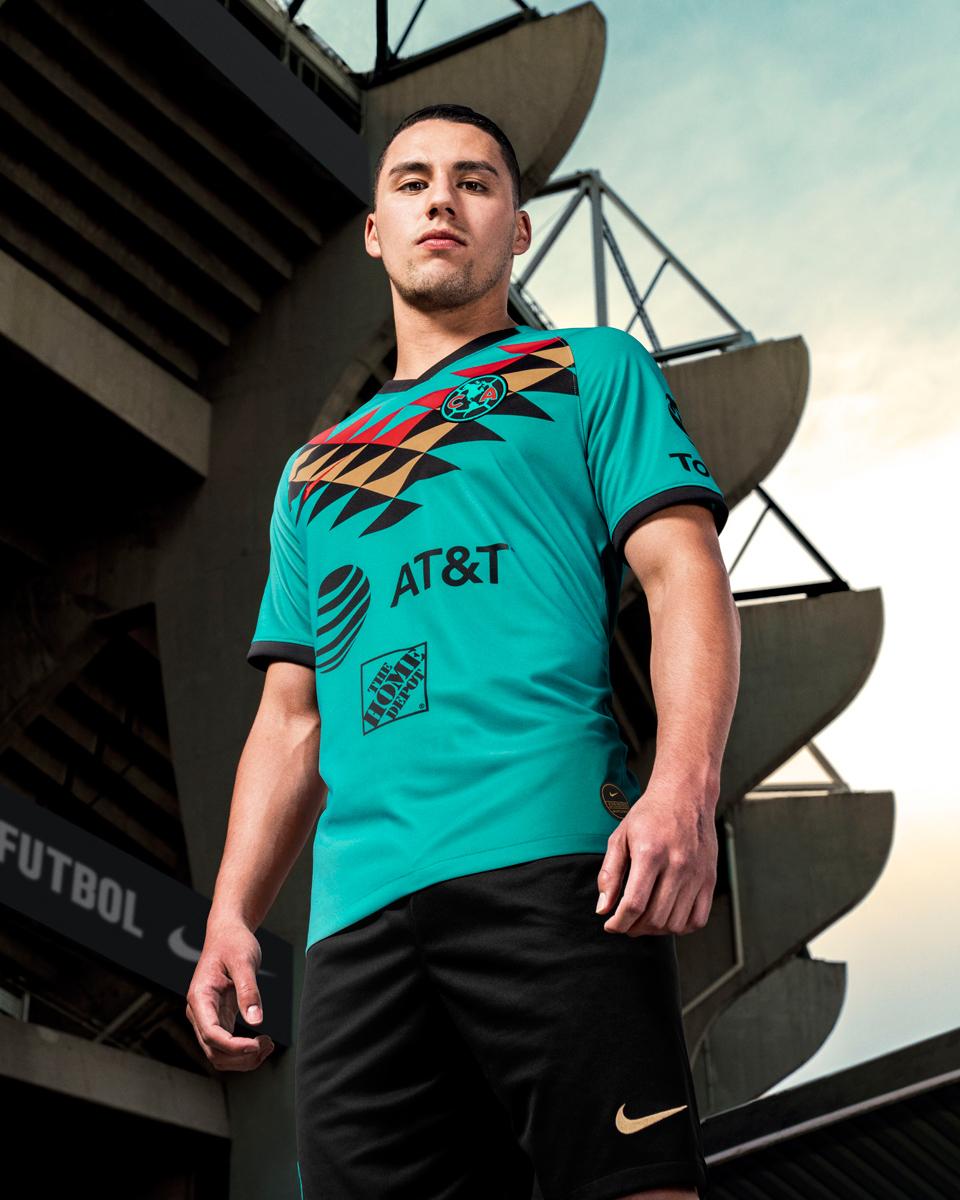 墨西哥美洲2019-20赛季第二客场球衣 © 球衫堂 kitstown