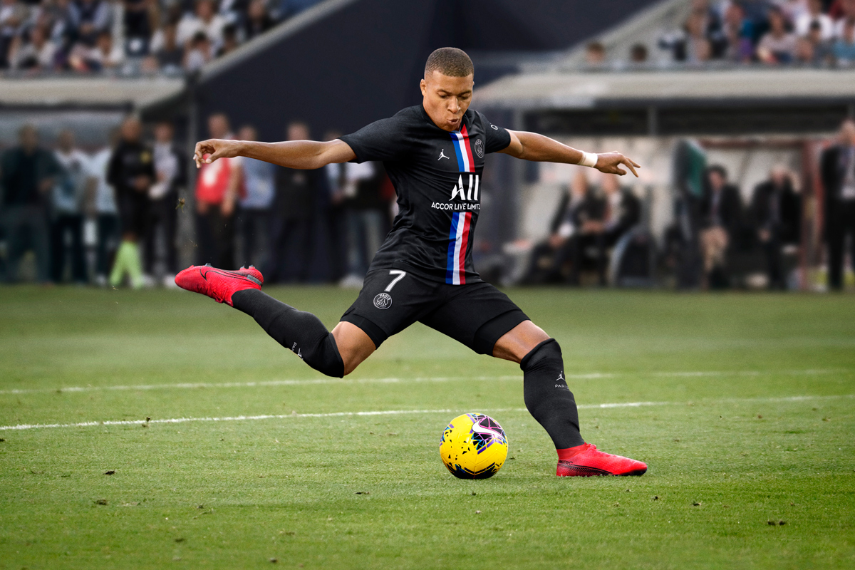 Jordan × 巴黎圣日耳曼2019-20赛季第三客场球衣球衫堂 kitstown