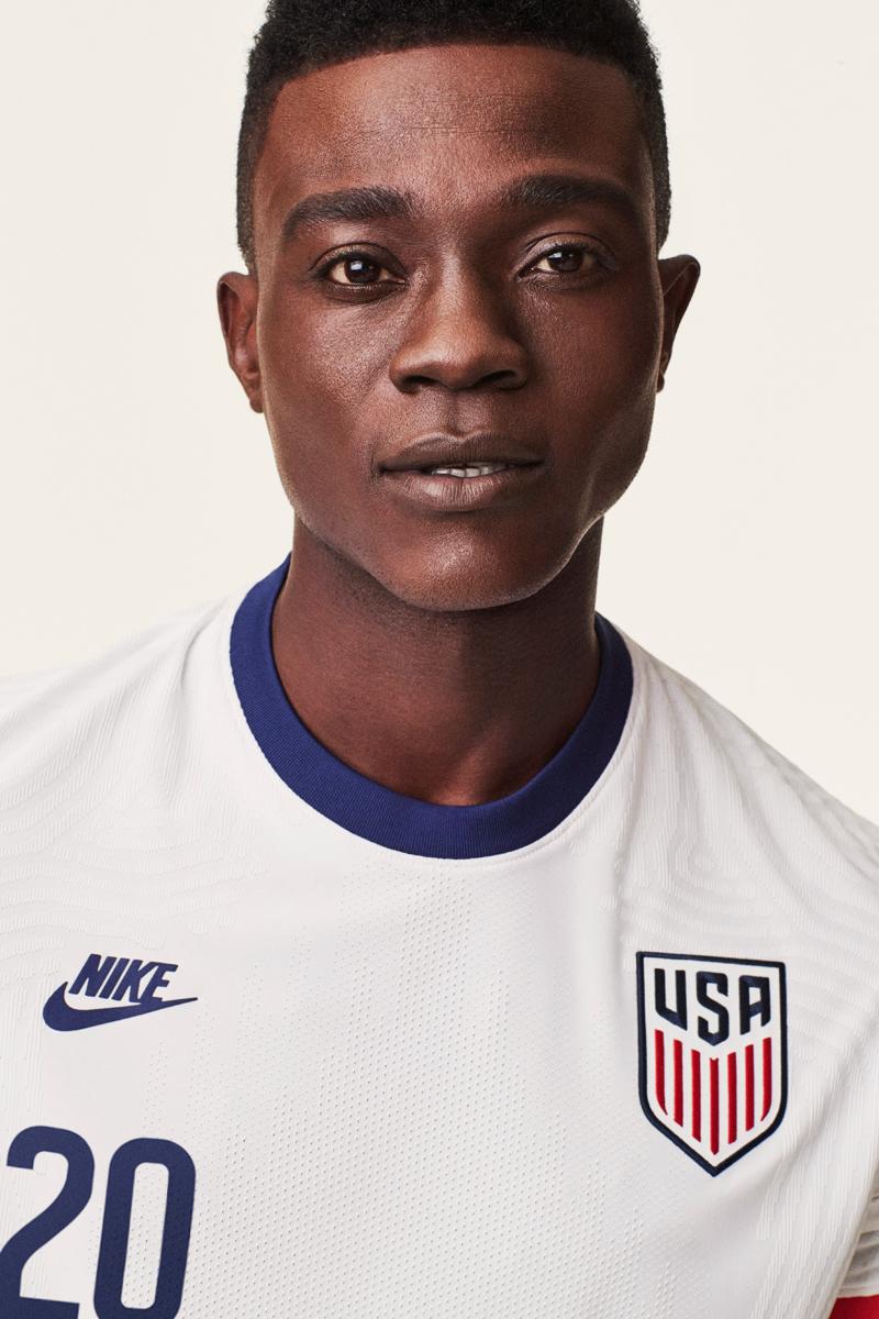 美国国家队2020赛季主客场球衣 © 球衫堂 kitstown