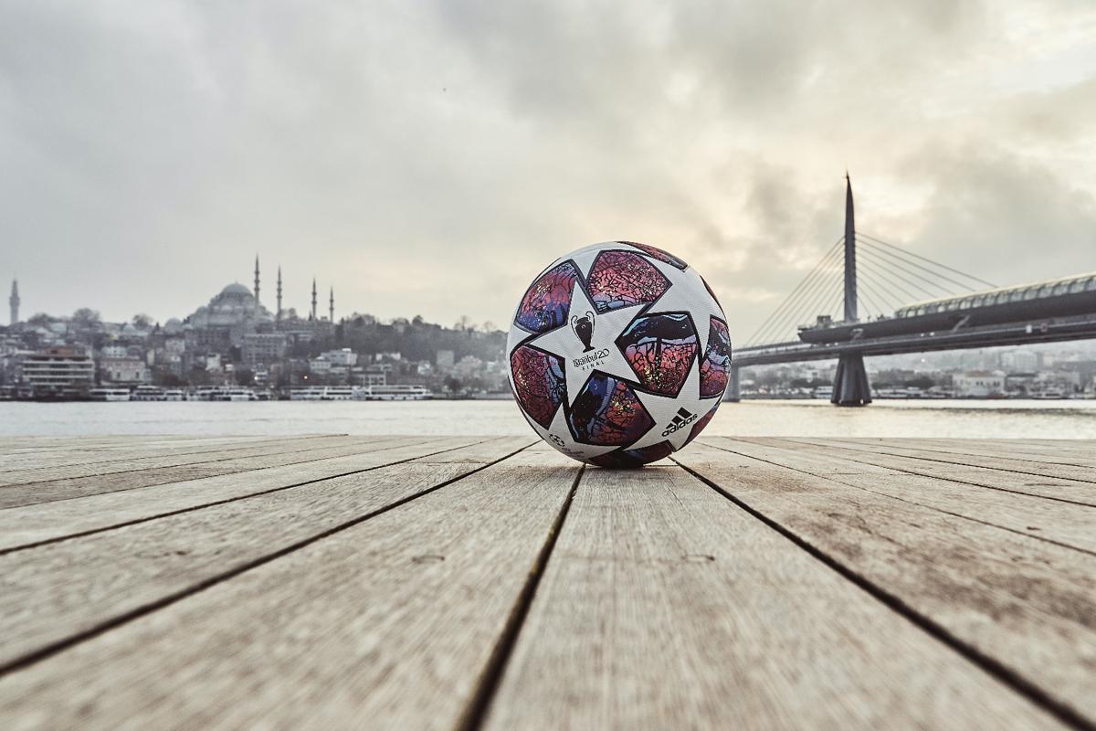 2019-20赛季欧冠联赛淘汰赛阶段官方比赛用球 © 球衫堂 kitstown