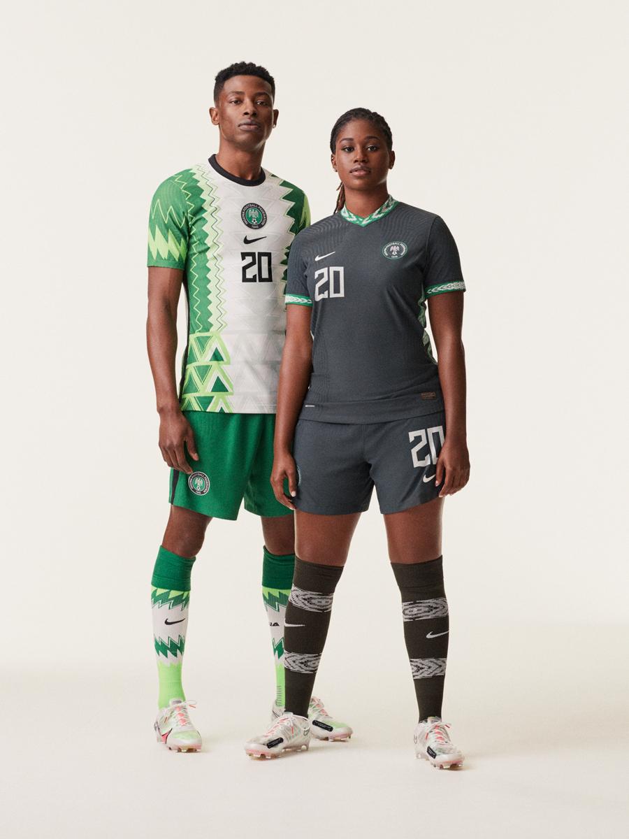 尼日利亚国家队2020赛季主客场球衣 © 球衫堂 kitstown