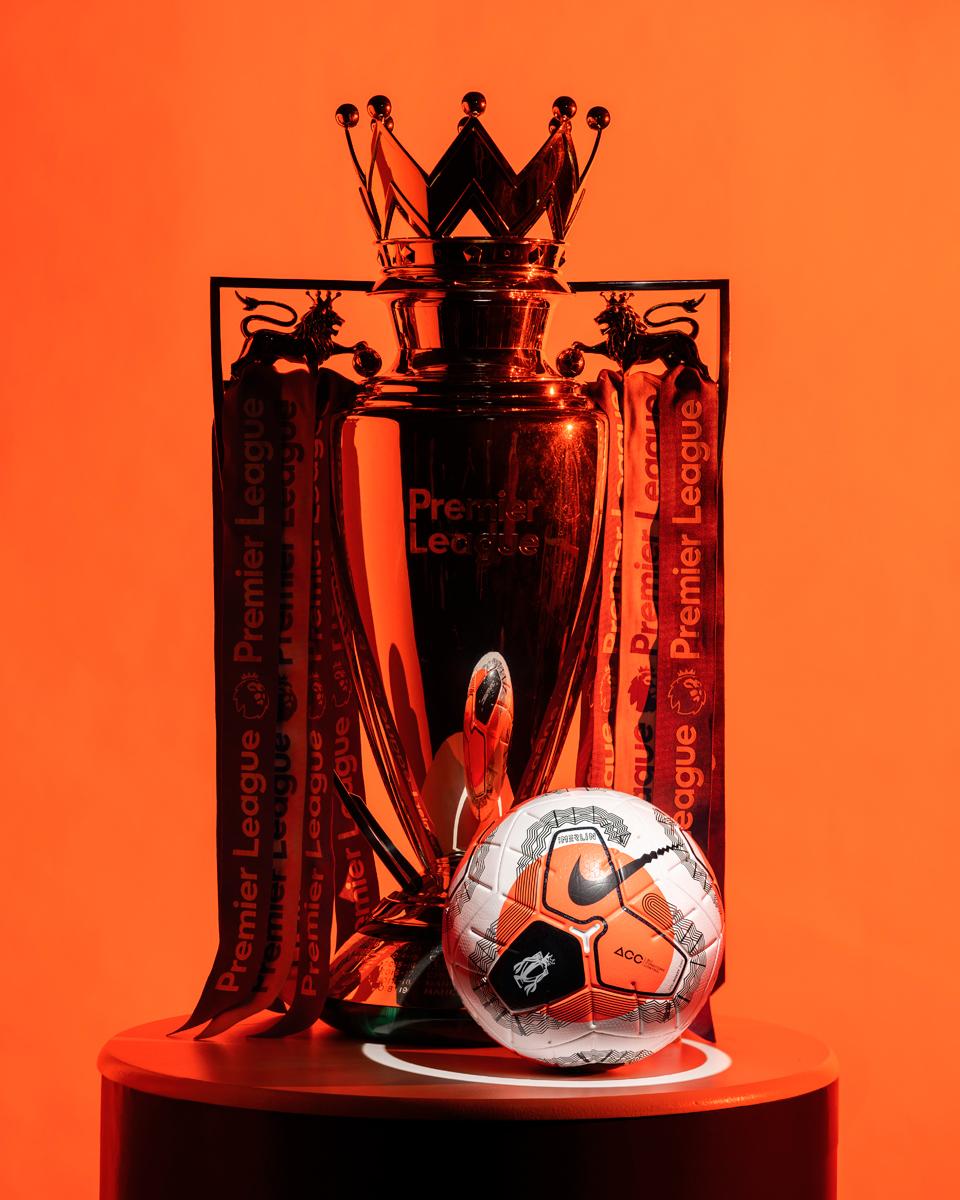 """2019-20赛季英超""""Tunnel Vision""""Merlin 比赛用球 © 球衫堂 kitstown"""