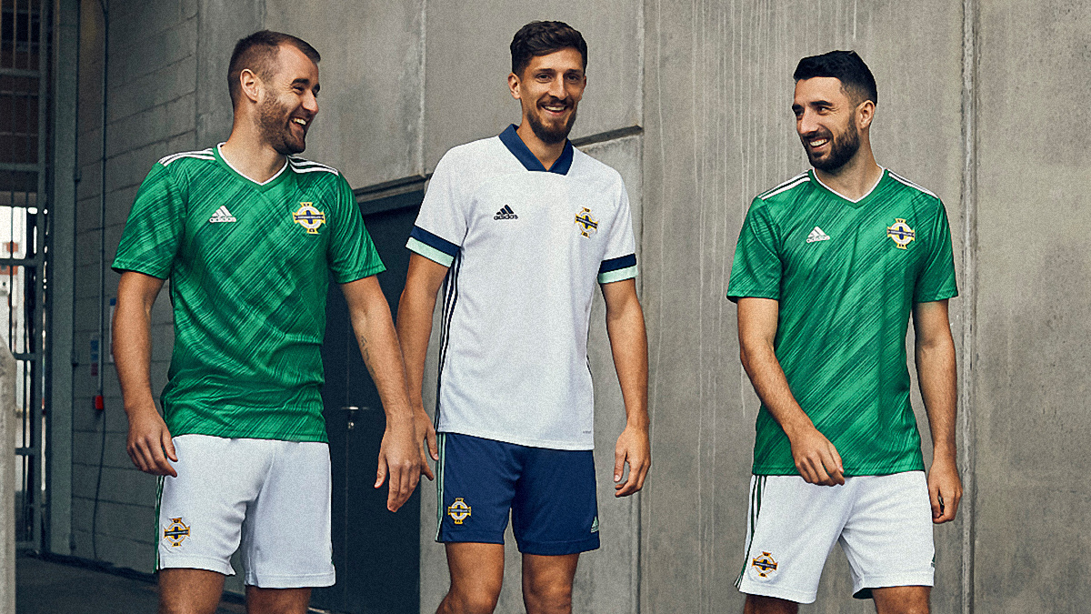 北爱尔兰代表队2020赛季客场球衣 © 球衫堂 kitstown