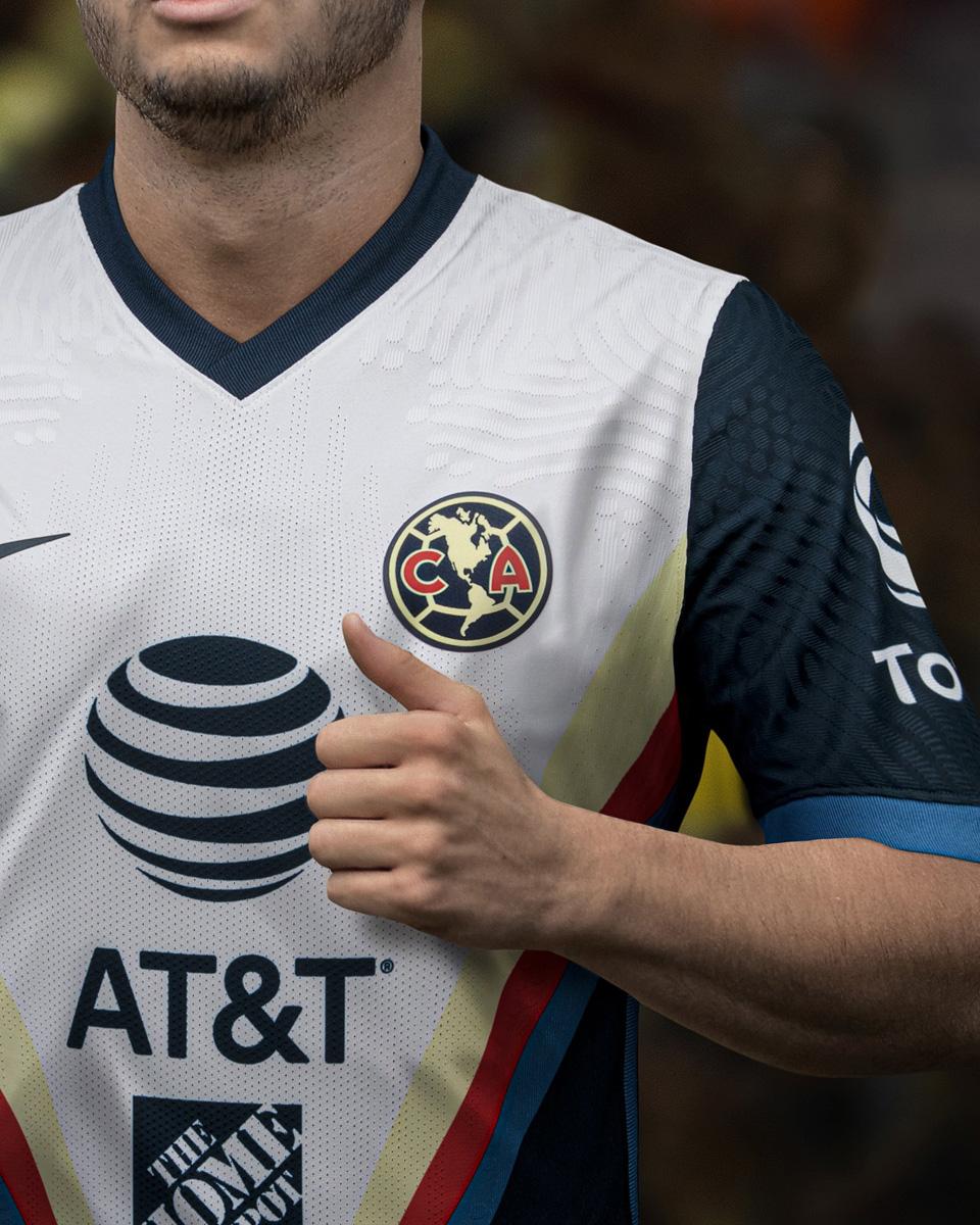 墨西哥美洲2020-21赛季客场球衣 © 球衫堂 kitstown