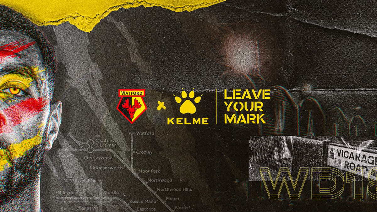 KELME与沃特福德俱乐部建立合作伙伴关系 © 球衫堂 kitstown