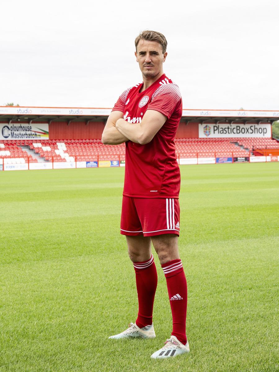 阿克林顿斯坦利(Accrington Stanley)2020-21 赛季主客场球衣 © 球衫堂 kitstown
