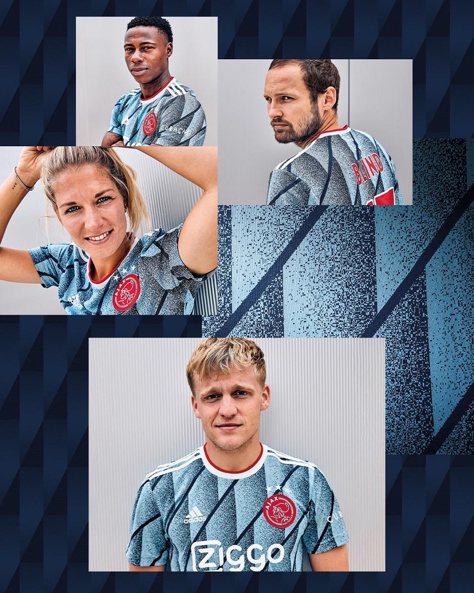 阿贾克斯2020-21赛季客场球衣 © 球衫堂 kitstown