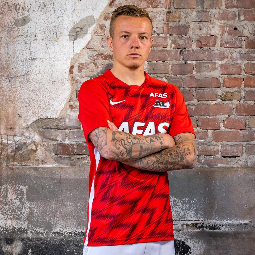 阿尔克马尔AZ 2020-21赛季主场球衣插图(2)