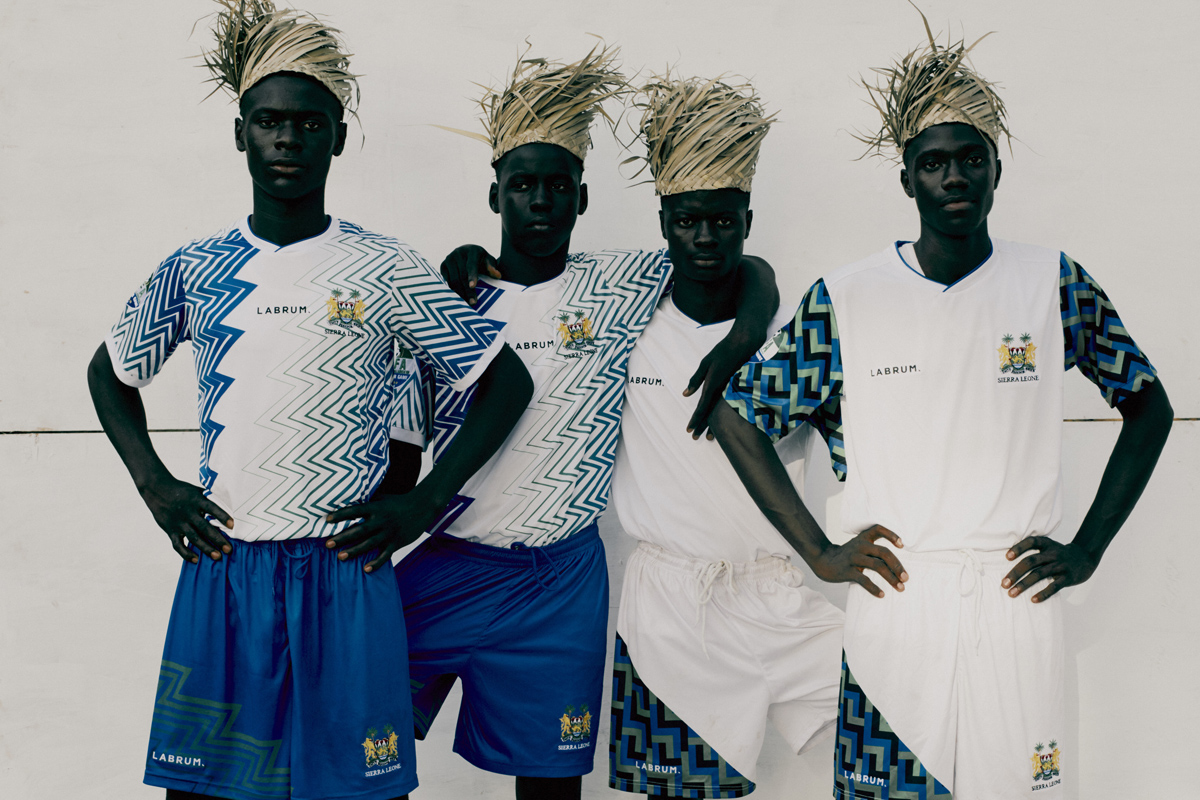 LABRUM × 塞拉利昂2020奥运系列服饰插图(2)