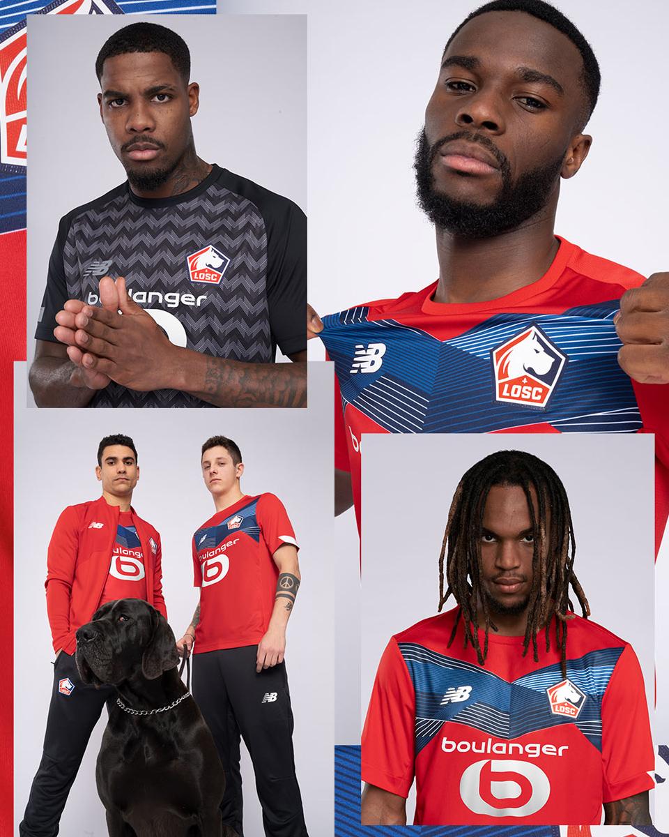 里尔 2020-21 赛季主场球衣 © 球衫堂 kitstown