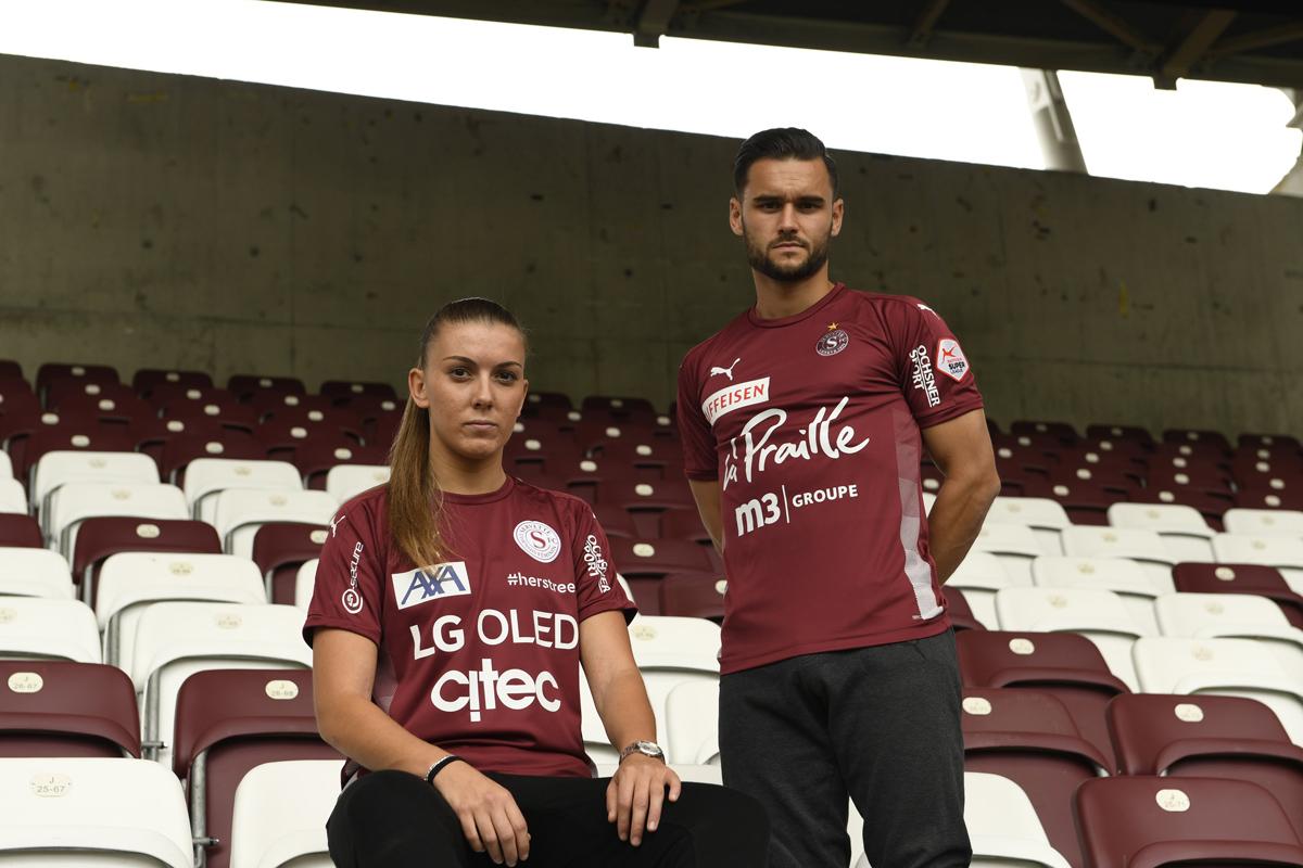 塞尔韦特(Servette FC)2020-21 赛季主客场球衣 © 球衫堂 kitstown