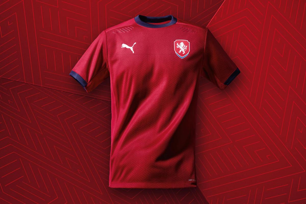 捷克国家队 2020-21 赛季主场球衣 © 球衫堂 kitstown