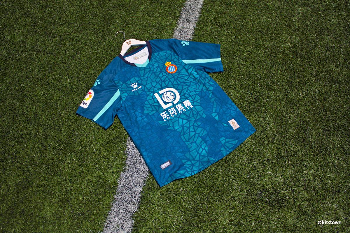 西班牙人 2020-21 赛季主客场球衣 © 球衫堂 kitstown