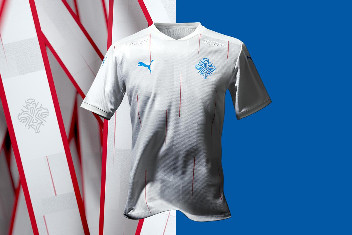 冰岛国家队 2020-21 赛季客场球衣 © 球衫堂 kitstown