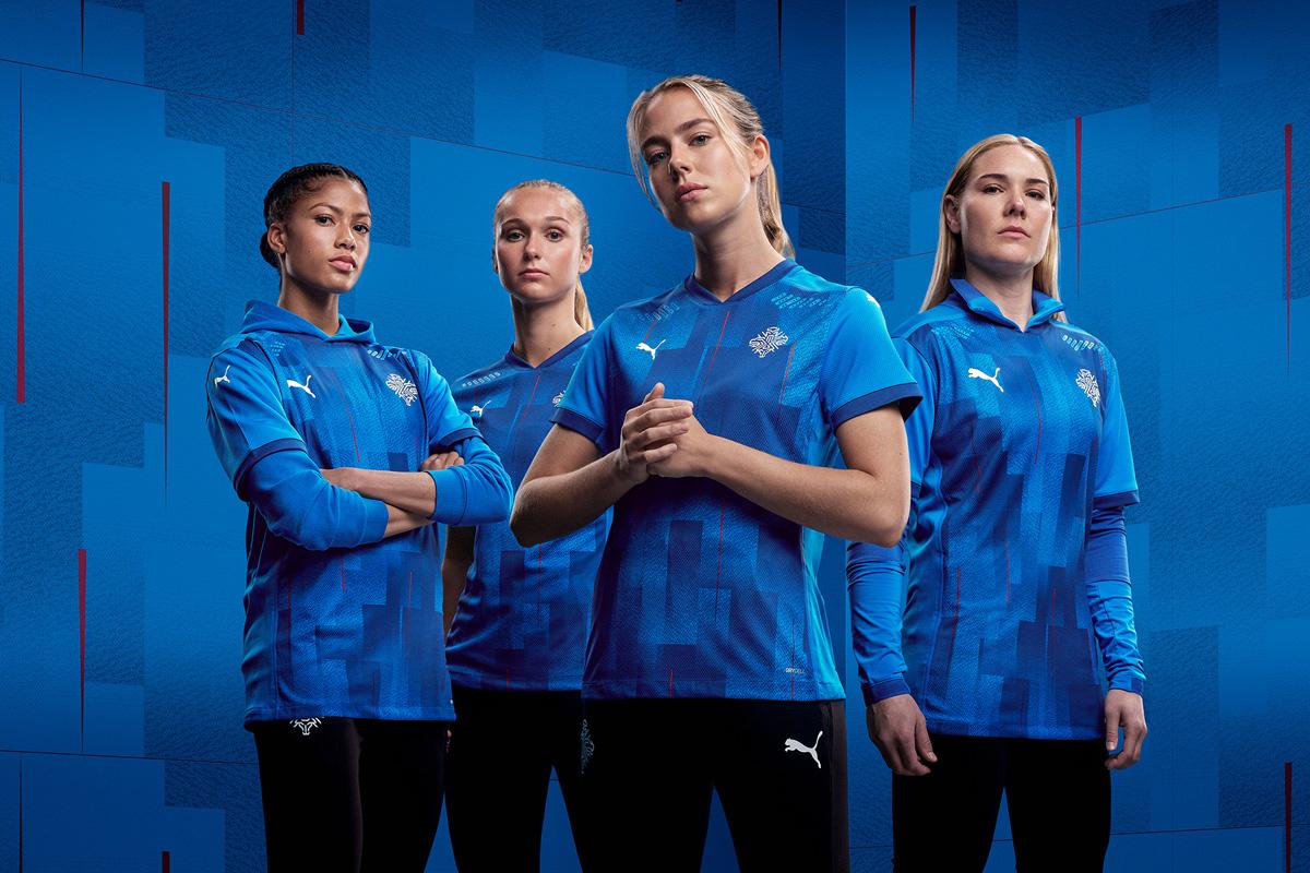 冰岛国家队 2020-21 赛季主场球衣 © 球衫堂 kitstown