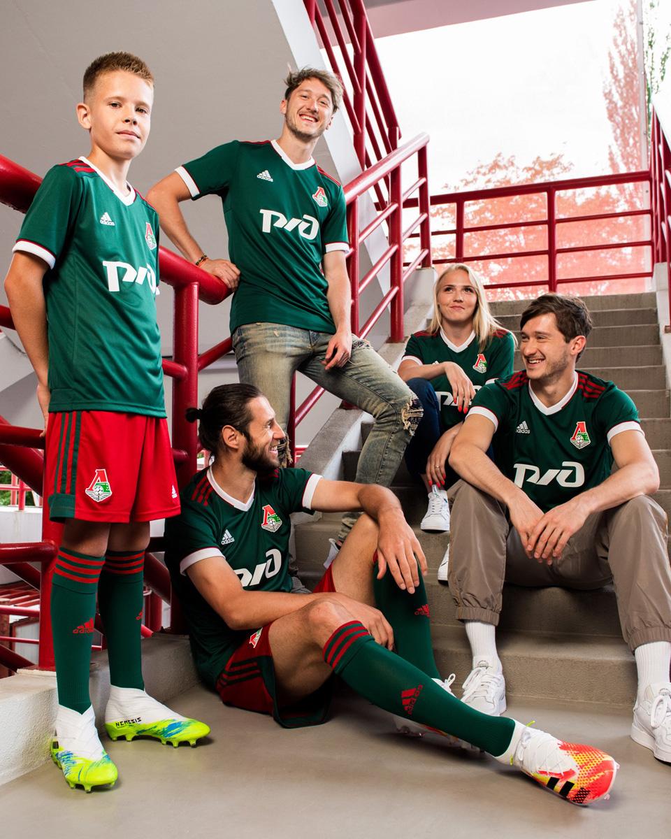 莫斯科火车头 2020-21 赛季主客场球衣 © 球衫堂 kitstown