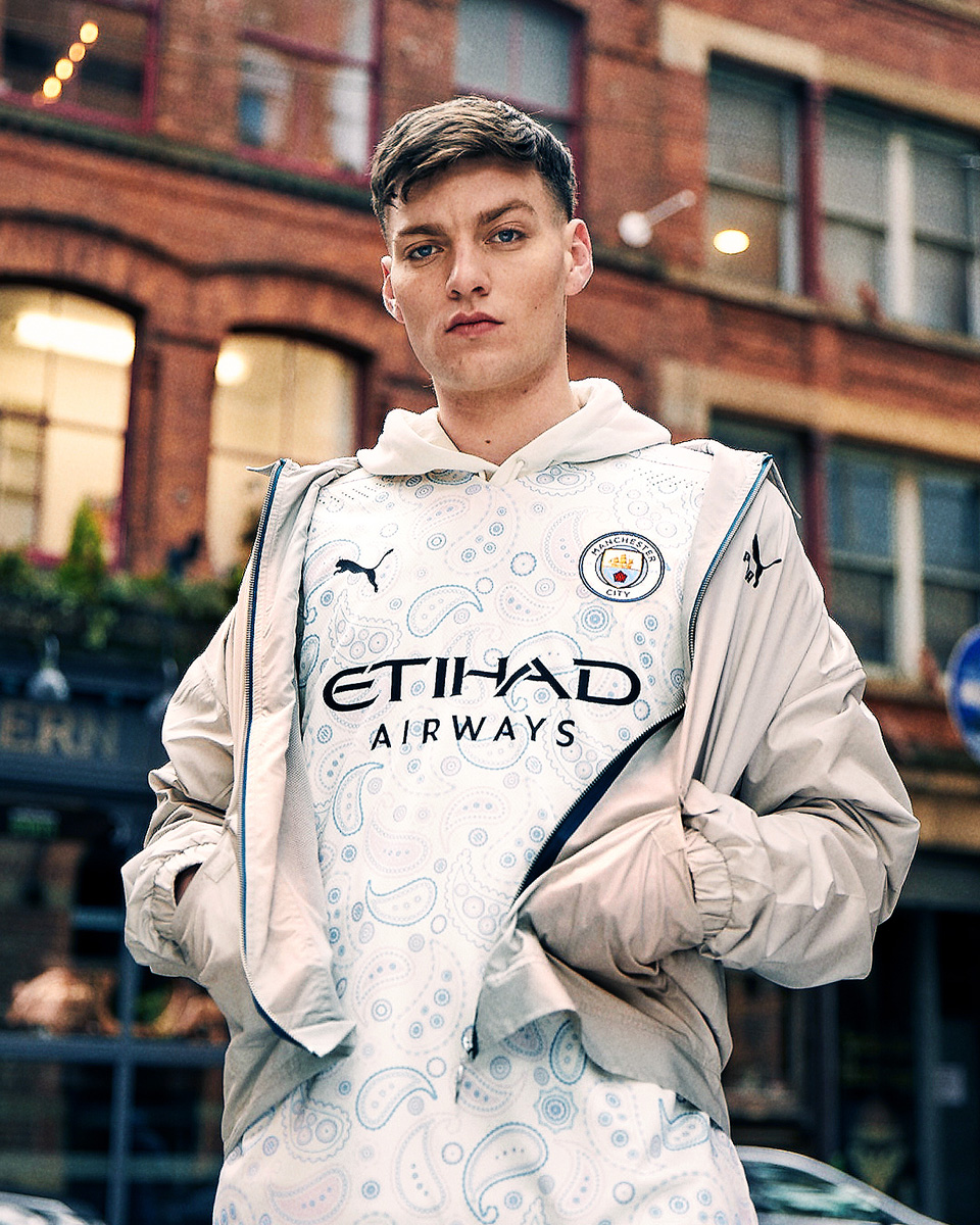 曼彻斯特城 2020-21 赛季第二客场球衣 © 球衫堂 kitstown