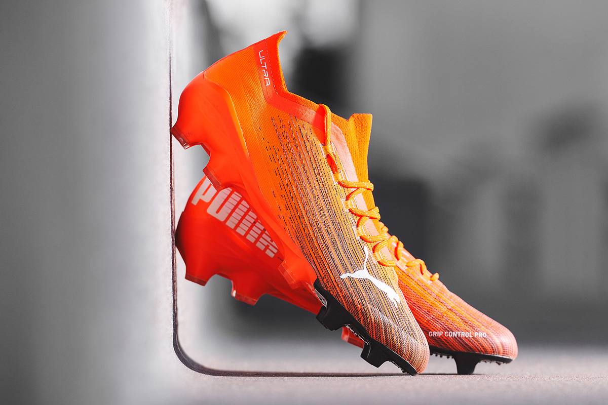 PUMA 发布新一代 ULTRA 足球鞋 © 球衫堂 kitstown