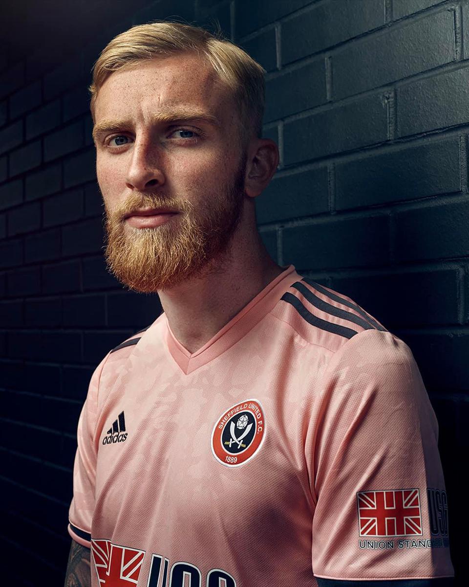 谢菲尔德联 2020-21 赛季客场球衣 © 球衫堂 kitstown