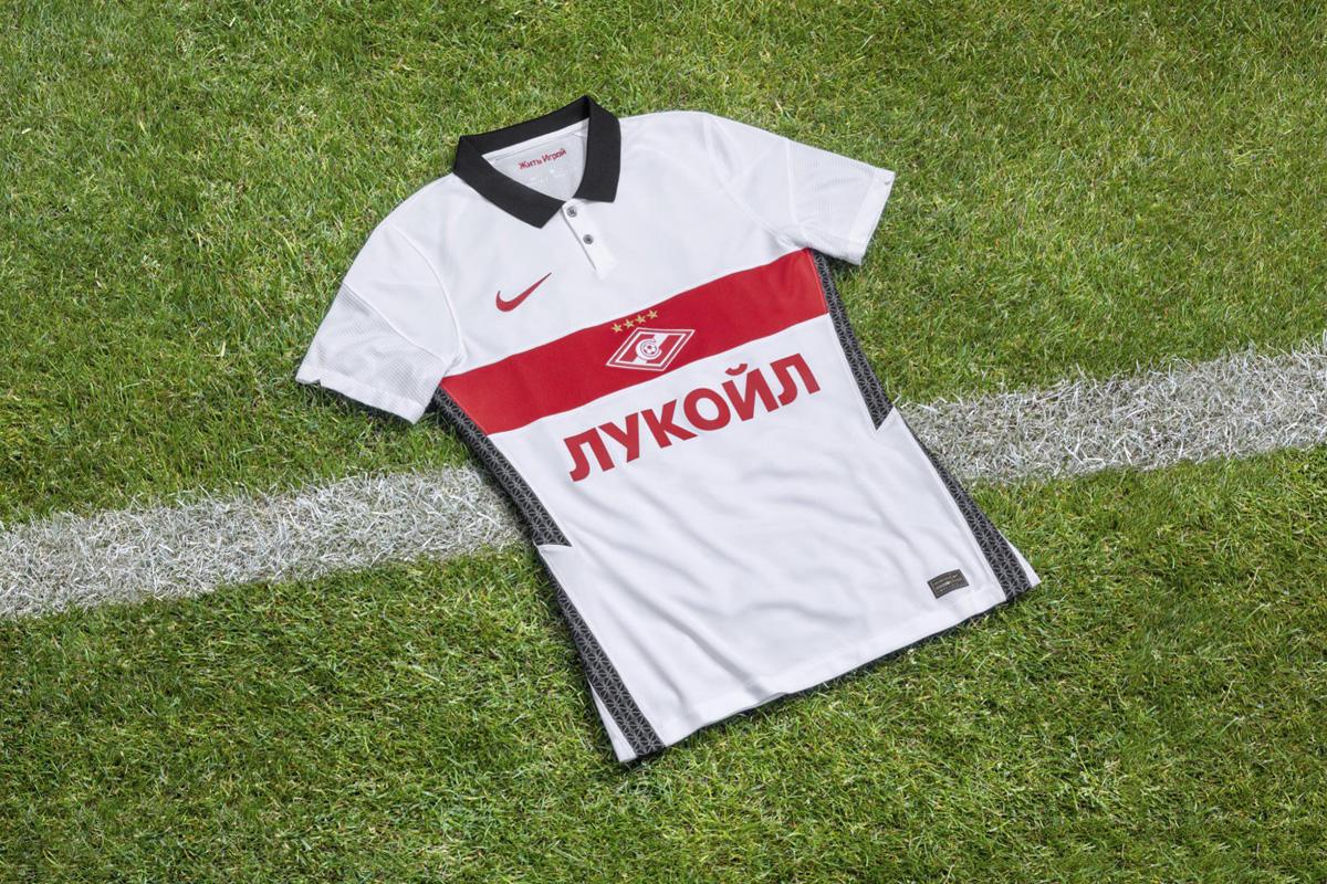 莫斯科斯巴达克 2020-21 赛季主客场球衣 © 球衫堂 kitstown