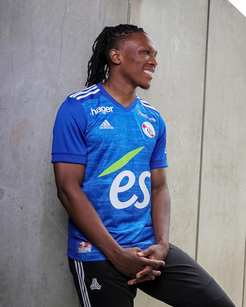 斯特拉斯堡 2020-21 赛季主客场球衣 © 球衫堂 kitstown